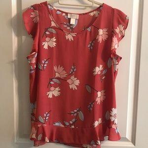 🌸 2/$12 LOFT blouse